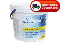 Препарат для повышения уровня pH, Froggy pH-plus (гранулы) 5 кг