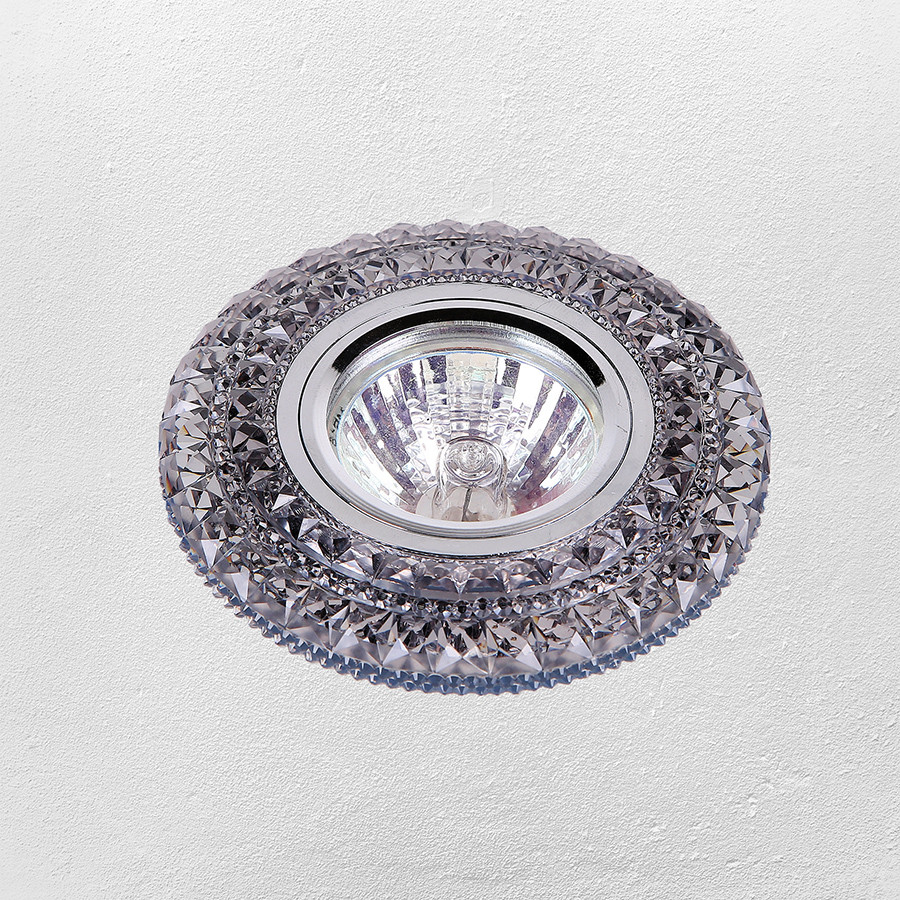 Точечный врезной светильник с подсветкой LED (модель 16-В208)