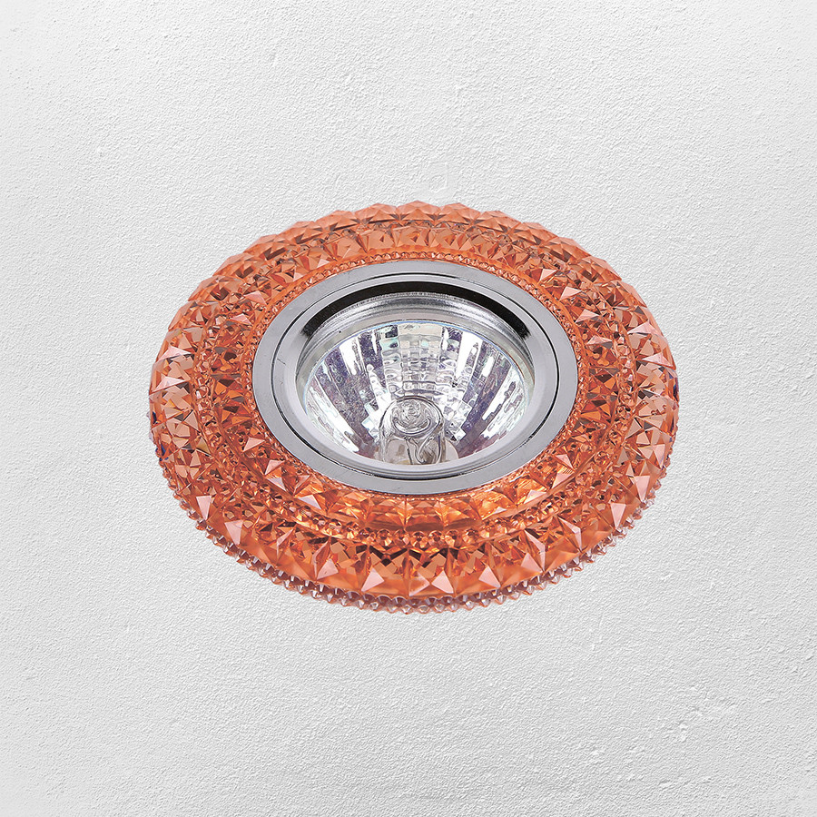 Точечный врезной светильник с подсветкой LED (модель 16-В209)