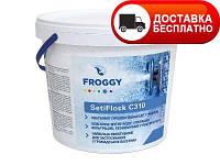 Гранулированный коагулянт Froggy SetiFlock(С 310) 4 кг