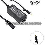 Блок питания для ноутбука Asus Eee PC 1000HG-N270, 1002 12V 3A 36W 4.8x1.7 (B)