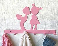 Декоративная вешалка настенная Дети