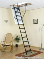 Чердачная лестница Oman Metal T3 h 280 см