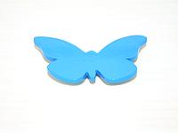 Магнит бабочка голубая большая