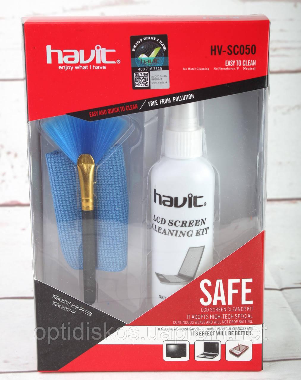 Чистящий набор для TFT Havit HV-SC050 (салф.,гель, кисточка)Нет в наличии