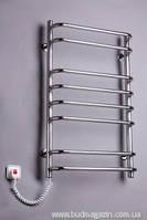 Полотенцесушитель Элна Cтандарт-8 830x500x130 нержавеющая сталь