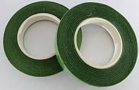 Флористическая лента (флорлента, тейп-лента). Цвет - зеленый