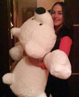 Большая мягкая игрушка медведь Умка 125 см белый