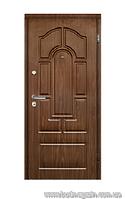 """Входные двери """"Двери Белоруссии"""" Веста Лесной  орех 880 (960)х2040"""