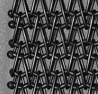 Сетка транспортерная (глазировочная , плетеная, тросиковая)