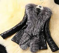 Женская меховая куртка. Модель 1035, фото 1