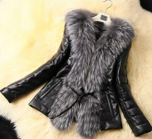 Женская меховая куртка. Модель 1035