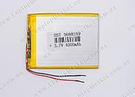 Аккумуляторная батарея для планшета Li-Polymer 3.7V, 4000mAh, 109*80*3,6мм