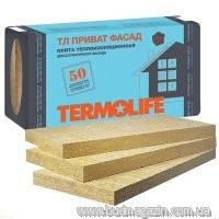 Базальтовый утеплитель Termolife ТЛ ПРИВАТ Фасад 1000х600х100 мм (1,2 м2)