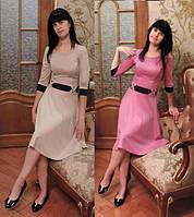 Женское расклешенное платье Миди