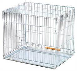 УНИВЕРСАЛЬНАЯ Клетка-переноска раскладная цинк  630х500х530- 10 кг