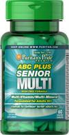 Puritan's Pride ABC Plus Senior Multivitamin Multi-Mineral Formula 60caplets