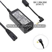 Блок питания для ноутбука Acer/Dell Aspire 1410 19V 1.58A 30W 5.5x1.7 (A)