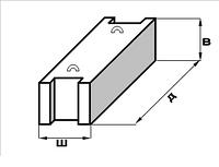 Блок фундаментный 4, 6 6 6, 24 6 6 фбс гост купить цена жби