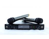 Радиосистема + 2 микрофона DM 4000 UKC UHF, вокальный динамический микрофон