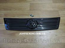 Зимняя накладка на решетку Фольксваген Кадди (заглушка решетки VW Caddy 2004-2009)