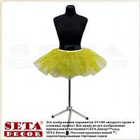 Детская юбка золотистая Принцесса карнавальная