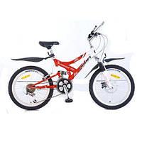 Велосипед Sensor FR 20 дюймов красно-белый