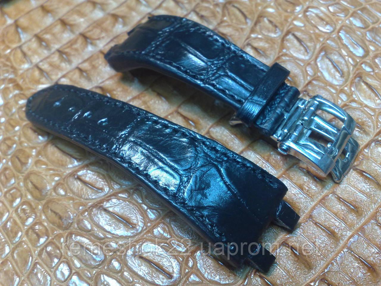 Заказать Ремешок из Крокодила для часов Ulysse Nardin Dual Time в ... ea3dca7d66160