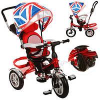 Велосипед с поворотным сиденьем и надувными колесами M 3114-2A Британия