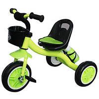 Велосипед трехколесный с флягой для воды и корзинкой M 3197-4