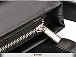 Сумка под документы ZEFER. Стильные сумки ZEFER. Мужская сумка-портфель. , фото 6