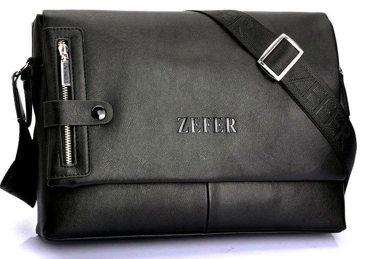 Сумка под документы ZEFER. Стильные сумки ZEFER. Мужская сумка-портфель.
