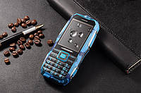 Land Rover T8  Противоударный телефон с суппер усиленной батареей (АКБ 10800 мАч) синий камуфляж , фото 1