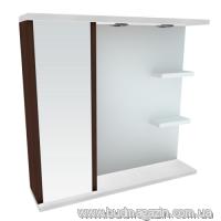 Зеркальный шкаф Леос Мишель Z-2 80 Венге L/R