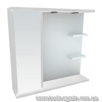 Зеркальный шкаф Леос Мишель Z-2 80 Б L/R