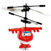 Игрушка запускалка самолет трансфформер Джет герой  мультфильма Супер крылья