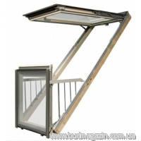 Окно-балкон Fakro FGH-V P2 Galeria 94х255