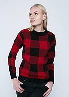 Модный женский вязаный джемпер, свитер