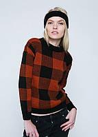 Модный вязаный женский джемпер, свитер