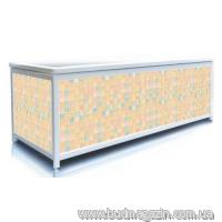 Экран для ванны, ЭЛИТ 150 (бежевый кафель)