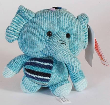 Мягкая игрушка Слон, 20см, 18A0107, фото 2