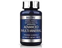 Scitec NutritionВитамины и Минералы Advanced Multi Mineral (60 tab)