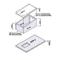 Сборный железобетонный гараж ПС-10-1 М