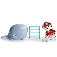 Paw Patrol Щенячий патруль щенок Маршалл спасает Китенка Marshall and Baby Whale Rescue Set