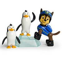 Paw Patrol Щенячий патруль щенок Чейз спасает пингвинчиков Spy Chase and Penguins Rescue Set
