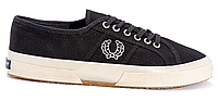 Кеды мужские Fred Perry (black/white) - 07z