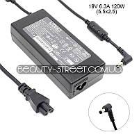 Блок питания для ноутбука LiteON Asus D1400C 19V 6.3A 120W 5.5x2.5 (Original)