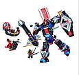 """Конструктор лего нексо Bela 10519 Nexo Knights """"Механический робот Чёрного рыцаря"""", 543 дет, фото 2"""