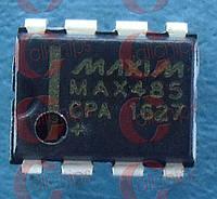 RS485/RS422 трансивер MAXIM MAX485CPA PDIP8 MAX485CPA+
