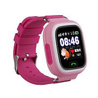 Детские часы Smart watch Q100 розовые, оригинальные.